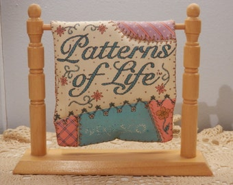 Patterns of Life name quilt