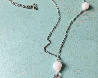 White & Pink Stones