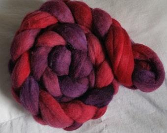 Hand Painted Merino Wool - Winter Berries