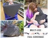 SALE SALE Nursing Cover Poncho | Blush Nursing Cover | Breastfeeding Cover Nursing, Breastfeeding poncho, Nursing top, Classic stripes