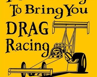 DRAG RACING Sign DRS1