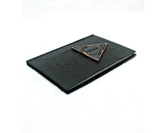 Harry Potter Deathly Hallows Blank Journal, mixed media notebooks