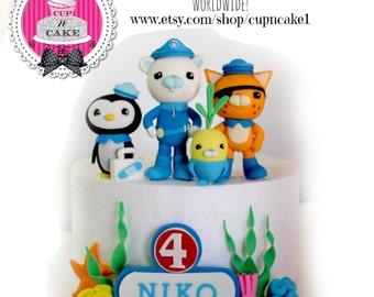 Octonauts cake topper Etsy AU