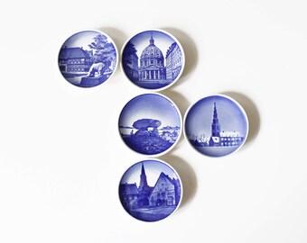 5 Royal Copenhagen Denmark Pin Dishes Kaj Lange Mid Century