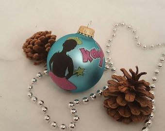 Ballerina Princess Ornament / Xmas Ornament / Christmas Ornament Handmade / Christmas Tree Ornaments / Xmas Decorations / Christmas