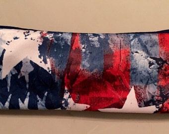 Independence Day Headband ~ American Pride  ~ Stars Headband ~ Fourth of July Headband ~ Red White and Blue Headband ~ Extra Wide Headband