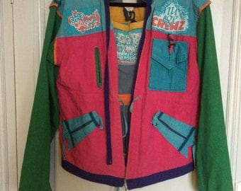 Backpacker Reversible Jacket 1980's