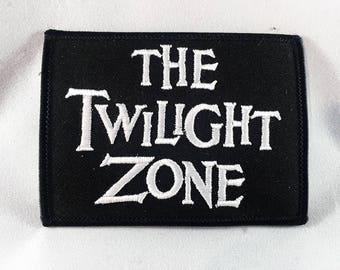 ON SALE!!! Twilight Zone patch Rod Serling sci-fi