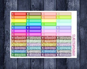 52 Meal Planning Stickers