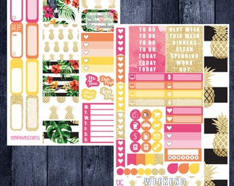 Tropical Kit for Personal Planner