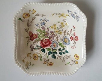Spode Copeland Romney square vegetable bowl