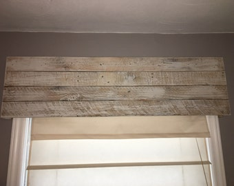 Barnwood Window Valance