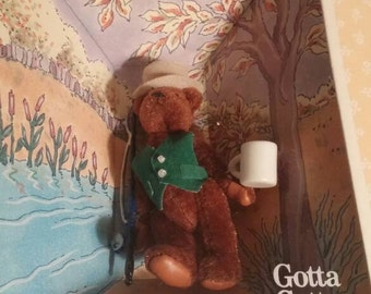 MIB Gund The Littlest Bears #7002 Father.