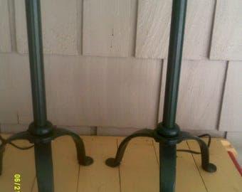 candlestick lamp etsy handmade dining room table Handmade Rustic Dining Room Tables