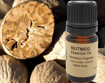 Nutmeg Essential Oil 5ml, 10 ml or 15 ml