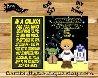 galaxy friends Invitation first Birthday party Invitations universe Custom Birthday invite 4x6 or 5x7 Digital OR Printed with envelopes
