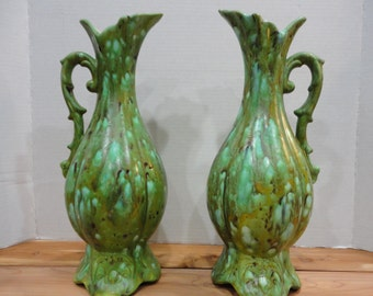 Pair of Mid Century Modern Pitcher Vases
