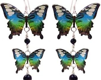 Orecchini farfalle 16