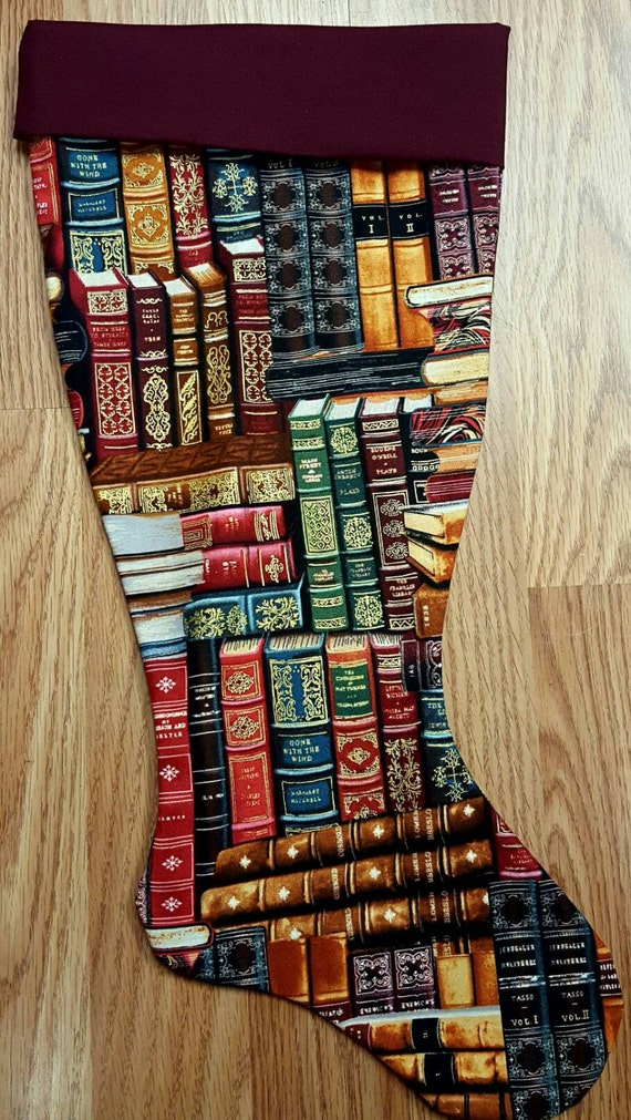 Books  Christmas Stocking