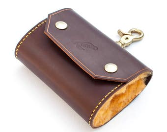 "The ""Witham"" Fly Fishing Flies Wallet - Handmade Genuine Leather - From Shire Supply Company"