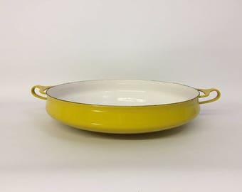 Jens Quistgaard Dansk Designs Kobenstyle Large Enamel Paella Pan