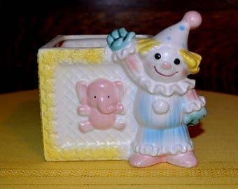 Vintage Norcrest Baby Nursery Planter