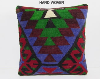 20x20 Kilim Pillow 20x20 Big Decorative By Decolickilimpillows