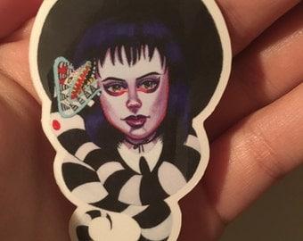 Lydia Deetz (beetlejuice sticker)