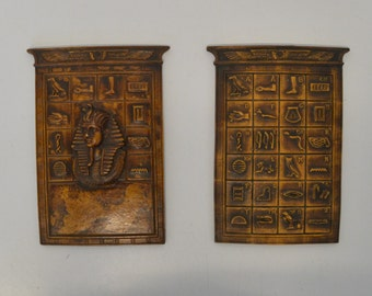 Egyptian tablets made of limestone of the 70s