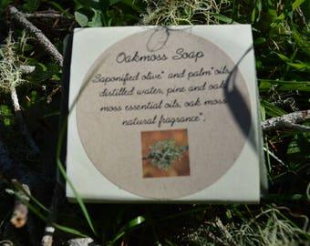 Oak Moss Olive Oil Soap