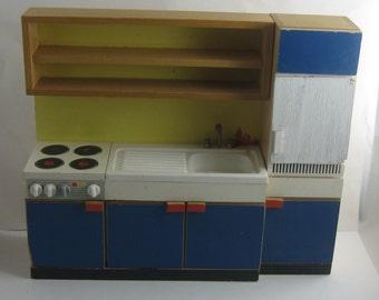 uralte handpuppen mit holzkopf 2 st ck kasper und. Black Bedroom Furniture Sets. Home Design Ideas