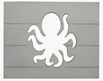 octopus wall decor | etsy
