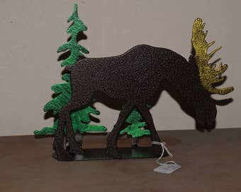Moose Napkin holder or letter holder