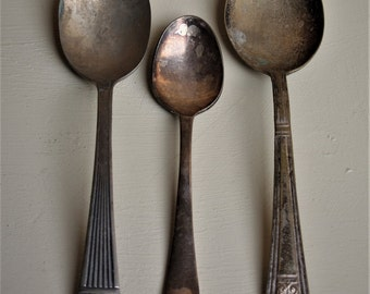 Silver Plate Spoons
