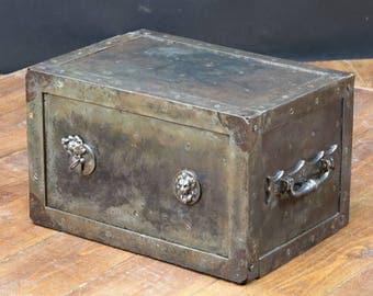 Very old box with key