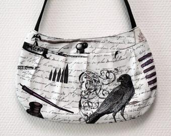 Handbag, Gothic - nevermore