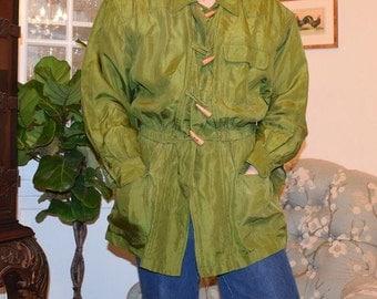 Green Silk Jacket