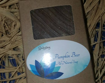 Pumpkin Beer , All-Natural Vegan Soap