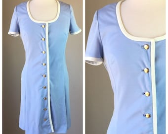 Vintage 70's day Dress