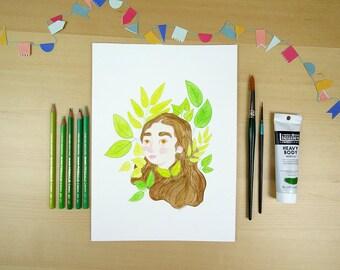 Savage - Illustration print