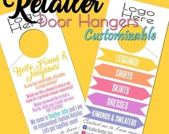 Personalized - Retailer/Consultant Door Hangers *****Completed Hangers*****