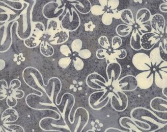 Moda Collections Sunshine Grey Cream Hawaiian Vintage Floral Howard Marcus Fabric BTY