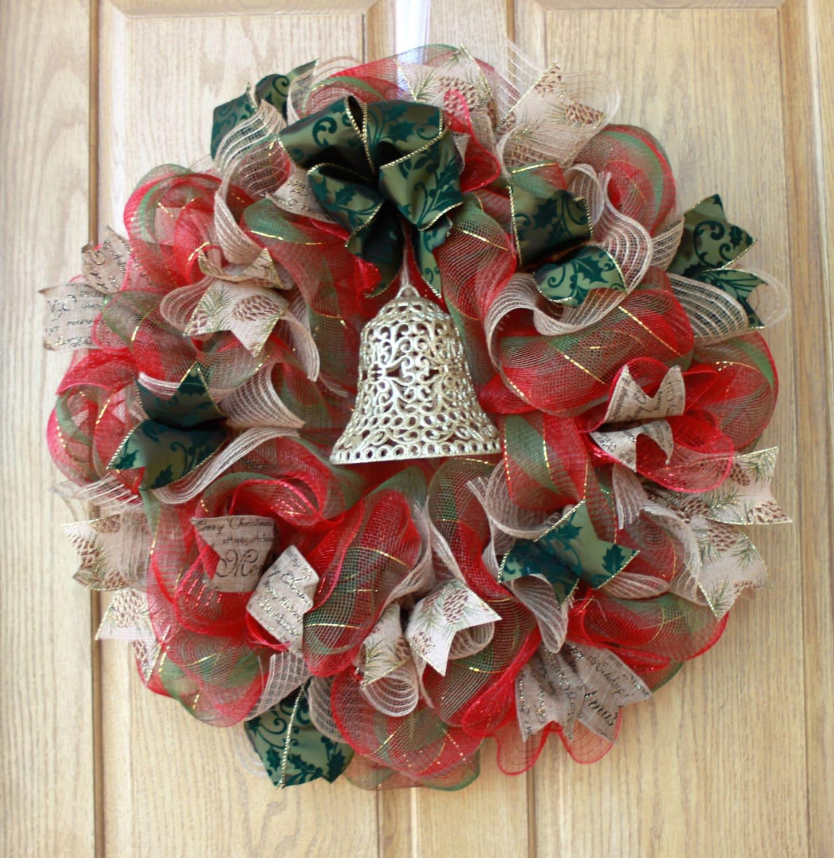 sale christmas wreath holiday wreath christmas decor. Black Bedroom Furniture Sets. Home Design Ideas