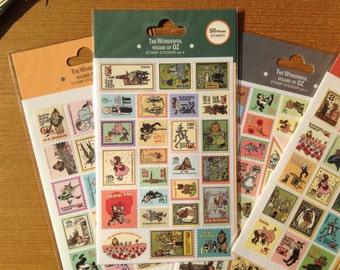The Wonderful Wizard of Oz Stamp sticker ver. 4 by 7321 design™