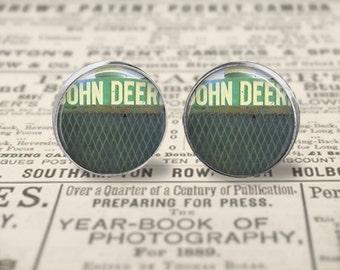 Vintage John Deere Earrings or Ring