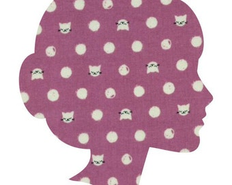 CAT LADY Lucy & Mabs Reusable pad or pantyliner / Made to Order