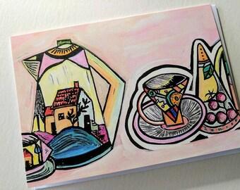 Greeting Card by Artist Samantha Thompson