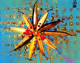 Photography and Art by W Gilroy…Fishing Lure Art...Fishing Lure Design…Fishing Lure Print…Fishing Lure Photography...