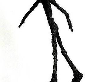 Man Sculpture Bronzesculpture Figure in Bronze height 42cm