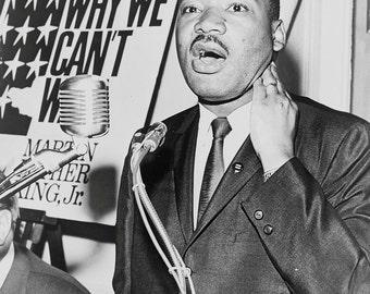Martin Luther King, Jr., Portrait, 1964, 1960's MLK